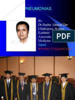 BACTERIAL PNEUMONIA BY DR BASHIR AHMED DAR ASSOCIATE PROFESSOR MEDICINE SOPORE KASHMIR