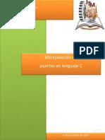 Manipulacion de Puertos en Lenguaje C