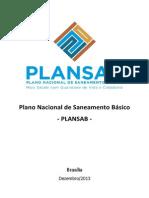 PLANO NACIONAL DE SANEAMENTO BÁSICO