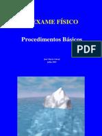 CURSO de SEMIOLOGIA - UEA - EXAME FÍSICO2