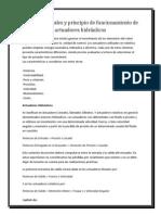 Partes principales y principio de funcionamiento de actuadores hidráulicos