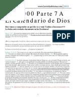 144000 Parte 7 El Calendario de Dios