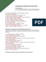 [CHEM] Workshop_Types of Chemical Rxn
