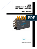 AJA Manual HDP