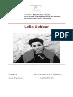 Leilla SEBBAR