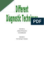 Different Diagnostic Techniques