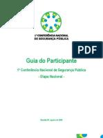 Guia Do Participante - Etapa Nacional 1ªCONSEG