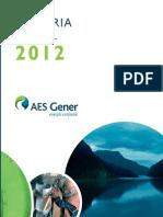 Final 2012 Memoria AES Gener