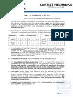 2013 MMC Document 2 (Contest Mechanics) - MTAP DEPED Math Challenge