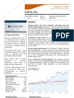 stock report  qcor