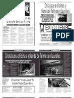 Versión impresa del periódico El mexiquense 6 diciembre 2013