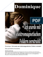 Strahlenfolter Stalking - TI - Dominique - Ich Wurde Mit Elektromagnetischen Feldern Verstrahlt - Next-up.org