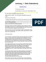 Strahlenfolter Stalking - TI - Deb Chakraborty - Fallsammlung - Deutsches Forum - Mc.hzc.Info