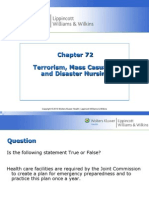 Chapter 072 Disaster Nursing