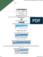 MODIFICA Programador de Tareas de Windows 7