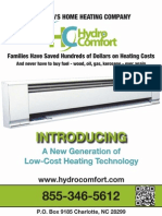 HydroComfort Product Brochure