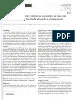 Articulo de Desprendimiento Prematuro de Placenta Normoincerta