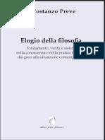 Costanzo Preve - Elogio della filosofia.