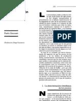 Giussani P La determinación de los precios de producción