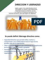 Direccion y Liderazgo
