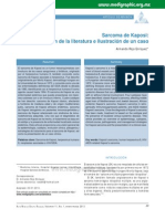 Sarcoma de Kaposi Caso Clinico