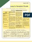 V1 N7 Nye-Gateway to Nevada's Rurals Newsletter August 22, 2009