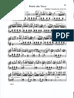 Burgmuller - Rondo Alla Turca, Op.68