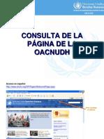 Instructivo Consulta Pagina Alto Comisionado ..