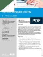 12214089 Practical Computer Security WEB