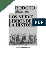Los 9 Libros de La Historia - Herodoto