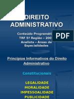 Aulas de Direito Administrativo para Trf