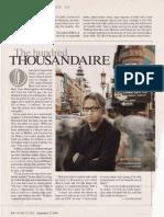 "Fortune Magazine ""Internet Top 40 Under 40"" issue featuring Jonathan Bates - 1999"