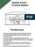 2. Desain Studi Kelayakan Bisnis