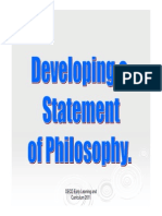 Developing Statement in Philosophy_fi