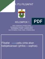 KELOMPOK 1 FILSAFAT