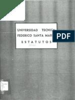 Estatutos UTFSM 1972