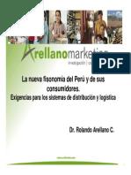 Nueva Fisonomia Del Peru Rolando Arellano Cueva