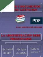 Estudios y Documentos Previos -Licitacion