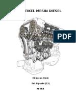 Artikel Mesin Diesel (Tgs)