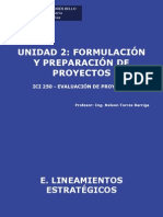 Clase 6 ICI 250 UNAB 2011-1- Formulacion y Preparacion de Proyectos IV