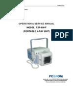 Руководство по Poskom PXP60-HF на английском языке