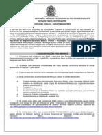 Edital 18 2013 Concurso IFRN Docente Nov2013