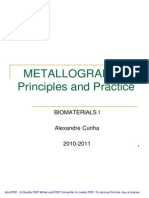 Metallography Presentation 2010-2011