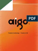 Guia de Uso Facil Aigo Portable Projector Pt6110 0