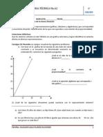9.1.4 Análisis de representaciones (gráficas, tabulares y algebraicas
