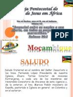 In for Me Misionero de Mozambique Mayo 2013