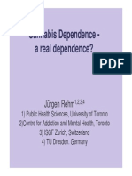 Cannabis Dependence Rehm