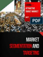 Topic 4 Part 2 Market Segmentation and Targeting