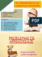 Diapositivas Problemas de Aprendizaje