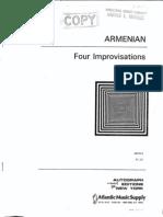 Armenian Four Improvisations